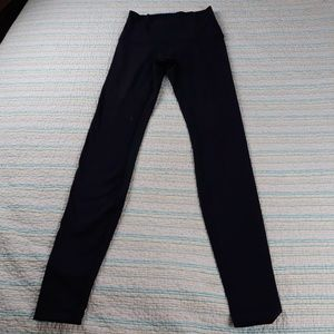 Lululemon 2 Wunder Under Pant Black Leggings
